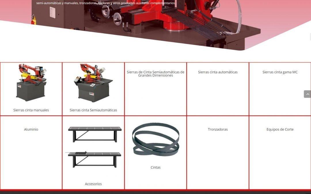 FAT presenta la seva nova pàgina web adreçada a professionals del sector de la metal·lúrgia.